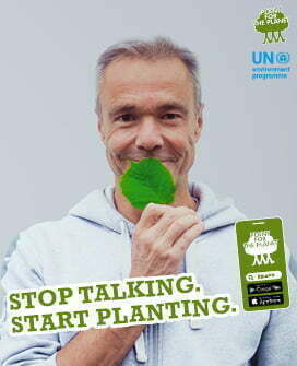 Hannes Jaenicke - Stop talking. Start planting.
