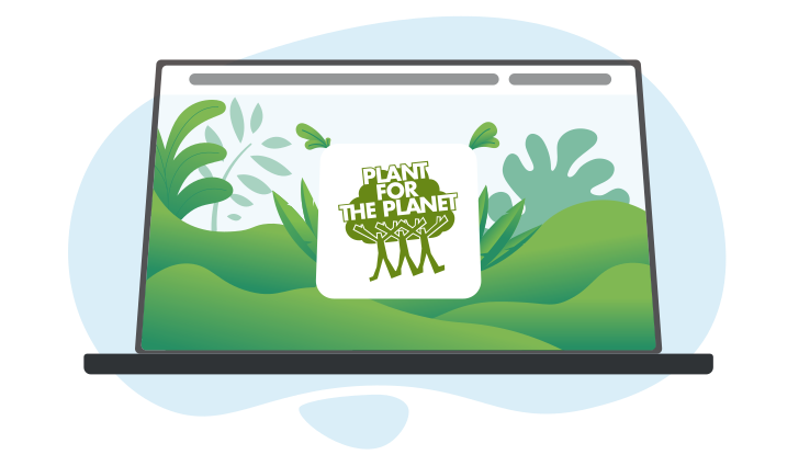 Web App - Trillion Trees for climate justice by Plant for the Planet